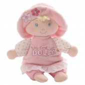 Игрушка мягкая (My First Dolly Small Blonde Rattle, 18 см). Gund