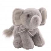 Игрушка мягкая (Oh So Soft Elephant Grey Rattle, 18 см). Gund