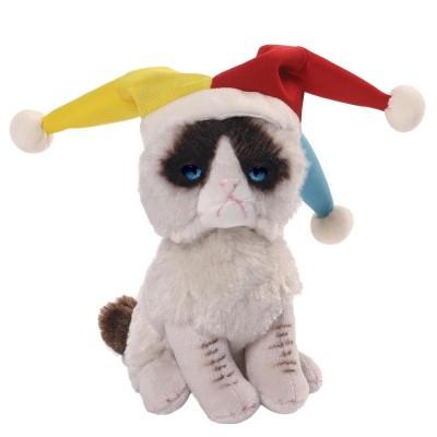 Игрушка мягкая (Grumpy Cat Jester, 12,5 см). Gund