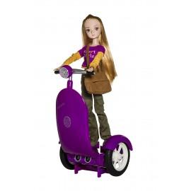 Сигги1 Сиреневый с куклой Жанна