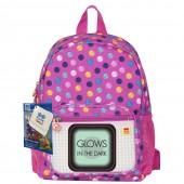Pixie Crew рюкзак детский с боковыми карманами (розовый)