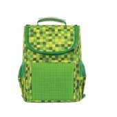 Рюкзак Pixie зеленый, детский с органайзером