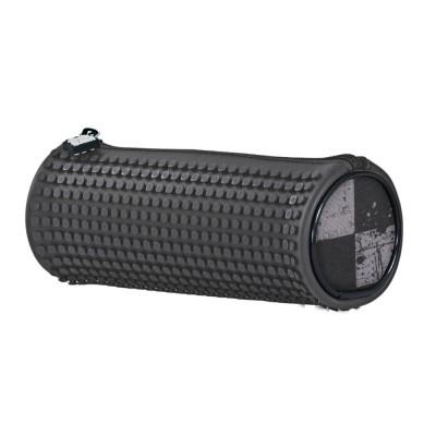 Пенал-цилиндр Pixie темно-серый