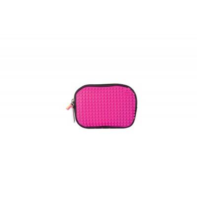 Сумочка Pixie черно-розовая, маленькая (с карабином)