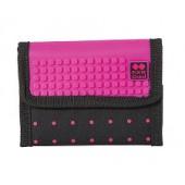 Кошелек Pixie черно-розовый