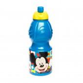 Спортивная бутылка Микки Маус Символы (пластиковая, 400 мл.)