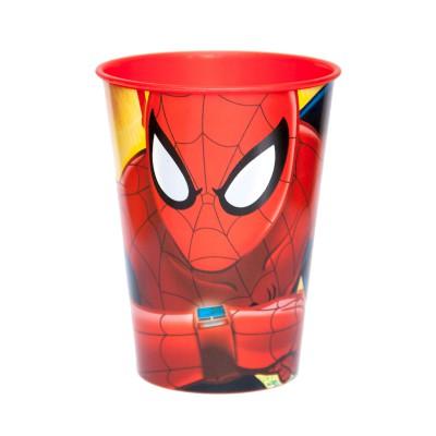 Стакан пластиковый (260 мл). Человек-паук Красная паутина