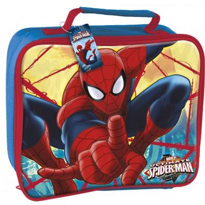Сумка для контейнера (изолированная). Человек-паук Красная паутина