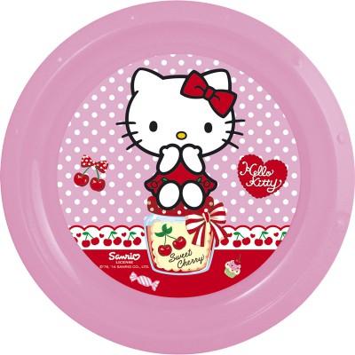 Тарелка пластиковая. Hello Kitty