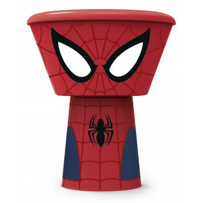 Набор пластиковой посуды из 3-х предметов (в виде героя). Человек-паук