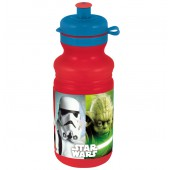 Бутылка пластиковая (спортивная, 500 мл). Звёздные войны