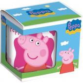 Кружка керамическая в подарочной упаковке (№1, 325 мл). Свинка Пеппа