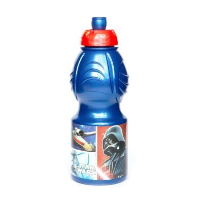 Бутылка пластиковая (спортивная, фигурная, 400 мл). Звёздные войны Классика