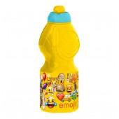 Бутылка пластиковая (спортивная, фигурная, 400 мл). Эмодзи