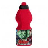 Бутылка пластиковая (спортивная, фигурная, 400 мл). Мстители Галерея
