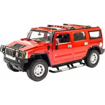 Радиоуправляемая машина MZ Hummer H2 Red 1:10 - 2056A