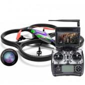 Радиоуправляемый квадрокоптер WLToys V333 Headless FPV Camera Cyclone UFO Drones 2.4G - V333 FPV