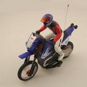 Радиоуправляемый мотоцикл HuanQi 528 Special Сross-Сountry 1:10 с гироскопом - HQ528