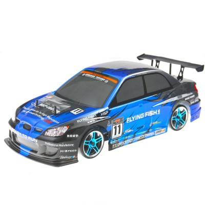 Радиоуправляемый автомобиль для дрифта HSP Flying Fish 1 - 1:10 4WD - 94123PRO-12344 - 2.4G