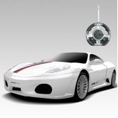 Радиоуправляемый конструктор - автомобиль Ferrari - 2028-1F08B