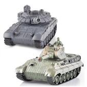 Радиоуправляемый танковый бой T90 и Tiger King 1:28 - 99820