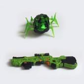 Лазерный пистолет с движущейся мишенью