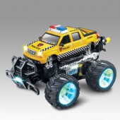 Радиоуправляемый автомобиль перевертыш Acrobatic Dancing Police Car 1:14 - 333-547B