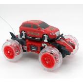 Радиоуправляемая машина-перевертыш Bubble Car красная - 333-PP02