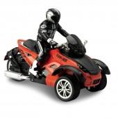 Радиоуправляемый оранжевый мотоцикл Yuan Di Трицикл 1:10 - YD898-T53