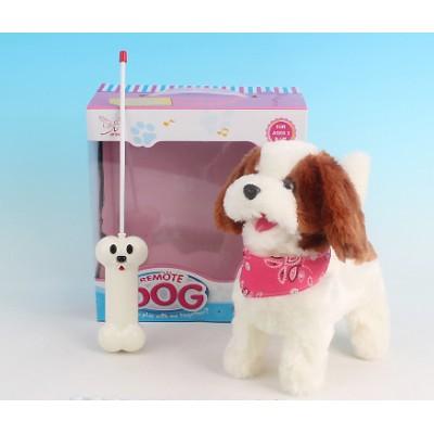 Радиоуправляемая плюшевая собака