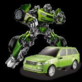 Радиоуправляемый робот-трансформер JQ Troopers Tyrant - TT651B