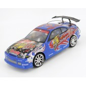 Радиоуправляемый автомобиль для дрифта Nissan Silvia GT Blue 1:14 - 828-3-B