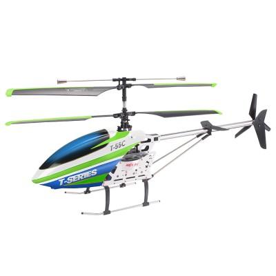 Радиоуправляемый вертолет MJX T55 (зеленый) c FPV камерой 2.4G - T55FPV-G