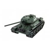 Радиоуправляемый танк HL T-34 / Т-34М Li-Ion с дымом 1:16 2.4G - HL-3909-1 PRO