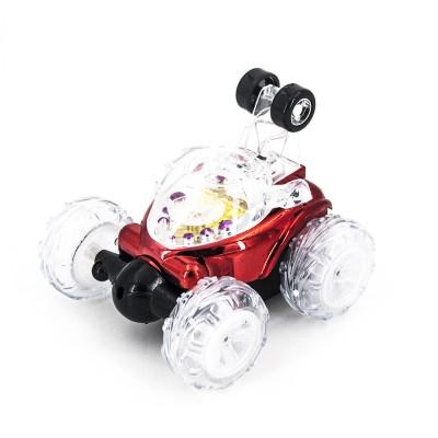 Радиоуправляемая трюковая красная машинка-перевертыш - RD930