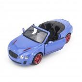 Радиоуправляемая машина MZ Bentley Continental GT Supersport ISR 2011 Blue 1:14, открываюся двери и капот - MZ-2249J-B
