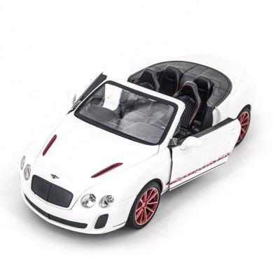 Радиоуправляемая машина MZ Bentley Continental GT Supersport ISR 2011 White 1:14, открываюся двери и капот - MZ-2249J