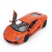 Радиоуправляемая машина MZ Lamborghini Aventador LP700 Orange 1:14, открываюся двери и капот - MZ-2225J