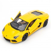 Радиоуправляемая машина MZ Lamborghini Aventador LP700 Yellow 1:14, открываюся двери и капот - MZ-2225J-Y