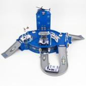 Парковка Полицейское управление с металлическими машинками - TH8510