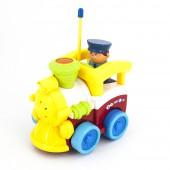 Детский желтый радиоуправляемый паровоз  - 6605