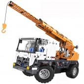 Радиоуправляемый конструктор автокран со стрелой / эвакуатор Cada Technics 2 в 1 - 2.4G - C51013W