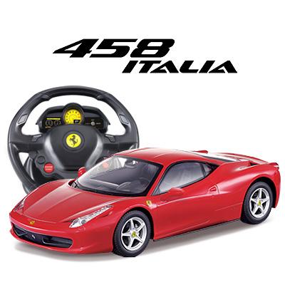 Радиоуправляемая машина MJX Ferrari 458 Italia 1:14, гироруль 2.4G - 3534A