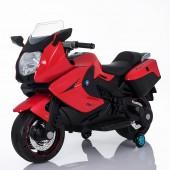 Детский электромобиль мотоцикл BMW K1200GT Red 12V - XMX-316