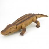 Радиоуправляемый коричневый крокодил со световым эффектами RuiCheng - 9985-B