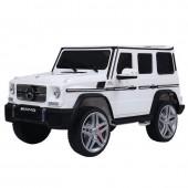 Радиоуправляемый детский электромобиль Mercedes Benz G65 White 12V 2.4G - G65