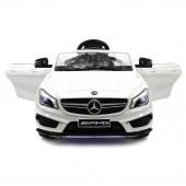 Детский электромобиль Mercedes CLA45 AMG LUXURY White 12V 2.4G - SX1538-E