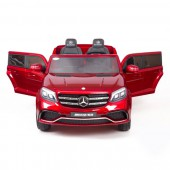 Детский электромобиль Mercedes Benz GLS63 LUXURY 4x4 12V 2.4G - Red - HL228-LUX-R