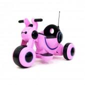 Детский электромотоцикл HL300 Pink 6V - HL300-P