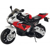 Детский электромотоцикл BMW S1000PR Red 12V - JT528-RED